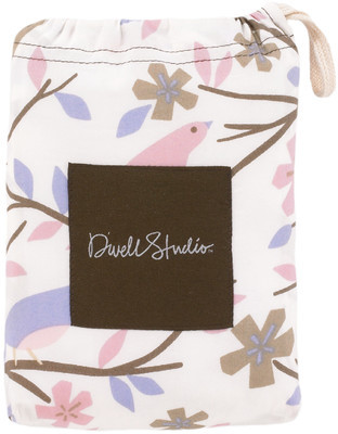 DwellStudio Sparrow Lilac Fitted Crib Sheet