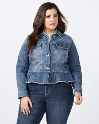 Penningtons Peplum Denim Jacket - d/c JEANS