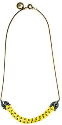 Giles & Brother Long Garland Crystal Bead Necklace