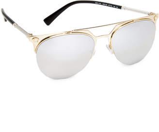 Versace Medusa Aviator Sunglasses $290 thestylecure.com