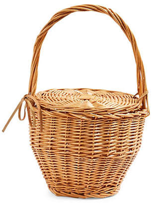 Topshop Shelly Straw Basket Bag