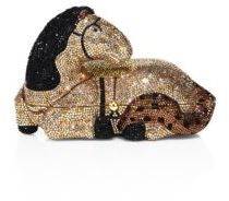 Judith Leiber Crystal Horse Minaudiere $2,295 thestylecure.com