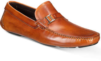Massimo Emporio Men's Strap Bit Smooth Leather Drivers, Created for Macy's Men's Shoes