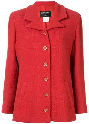 Chanel Pre-Owned long sleeve tweed jacket
