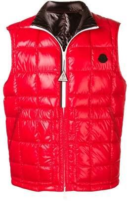 Moncler padded zipped vest
