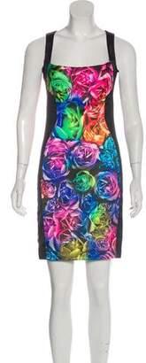 Just Cavalli Sleeveless Mini Dress