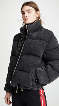 Alexander Wang Denim x Puffer Jacket