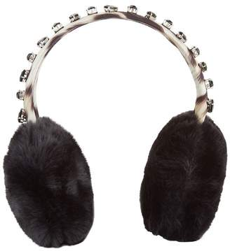Roberto Cavalli Faux Fur Ear Muffs