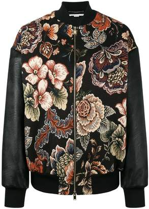 Stella McCartney Sabina tapestry bomber jacket