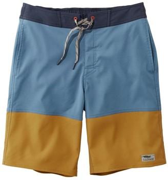 "L.L. Bean L.L.Bean Men's Traverse Swim Trunks, Colorblock 10"""