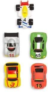 Elegant Baby Five-Piece Race Car Party Bath Squirties