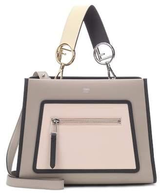 Fendi Runway Small leather shoulder bag