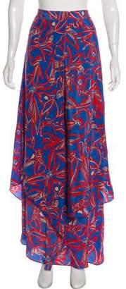 Diane von Furstenberg Silk Maxi Skirt