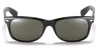 Ray-Ban Unisex Polarized New Wayfarer Sunglasses, 56mm