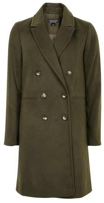 TopshopTopshop Double breasted coat