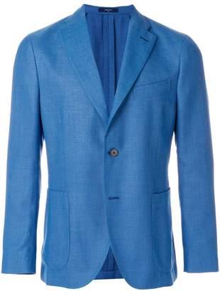 Boglioli classic woven blazer