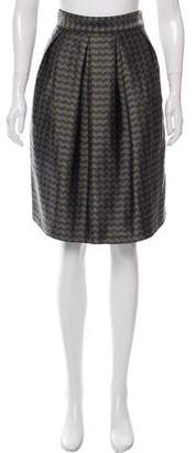 Proenza Schouler Jacquard Knee-Length Skirt