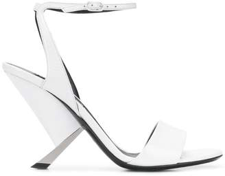 ebc69f02561f Casadei White Women s Sandals - ShopStyle