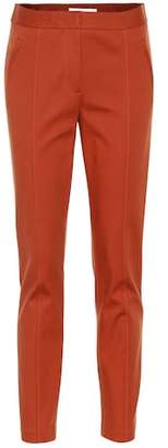 Tory Burch Vanner stretch-cotton pants