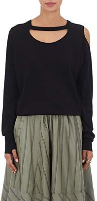 Mayle Maison Women's Slashed Fine-Gauge Knit Sweater