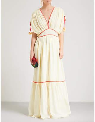 Pitusa Clara cotton maxi dress