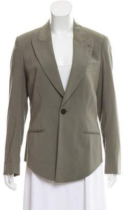 Jean Paul Gaultier Classique Structured Wool Blazer