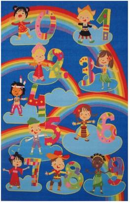 Fun Rugs Fun Time Kids & Numbers Rug