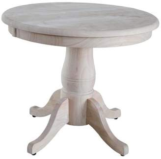 INC International Concepts International Concepts Round Pedestal Table Set, Top and Base