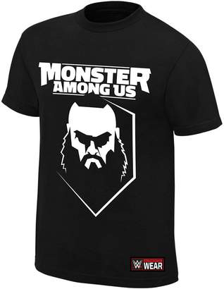 Braun WWE Authentic Wear WWE Strowman Monster Among Us Authentic T-Shirt