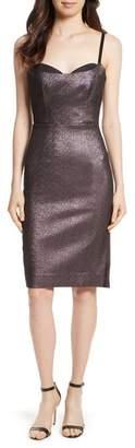 Women's Milly Tara Stretch Metallic Sheath Dress