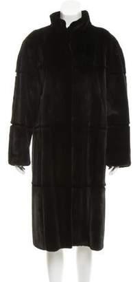 Oscar de la Renta Mink Long Coat