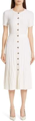 Altuzarra Knit Button Front Dress