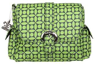 Kalencom Midi Matte Coated Buckle Bag, Green Clover by