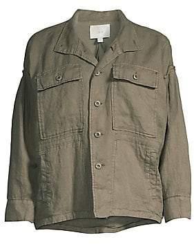 Joie (ジョア) - Joie Women's Kendora Linen Cargo Jacket