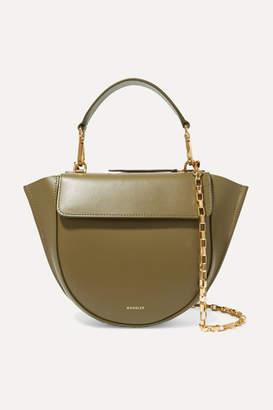 Wandler Hortensia Mini Leather Shoulder Bag