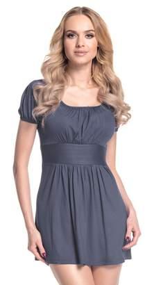 Glamour Empire. Women's Jersey Top T-Shirt Empire Waist Short Sleeves. 408 (