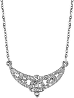 Downton Abbey Openwork Crescent Necklace