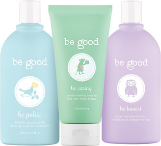 Be Good 3-Piece Natural Bath Gift Set For Kids $49 thestylecure.com