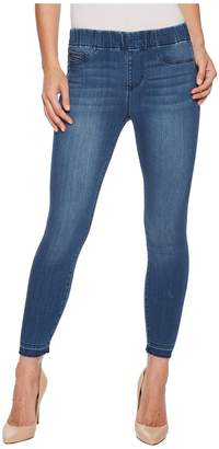Liverpool Chloe Release Hem Pull-On Crop in Silky Soft Denim in Harlow Women's Jeans