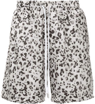 Stampd leopard print bermuda shorts