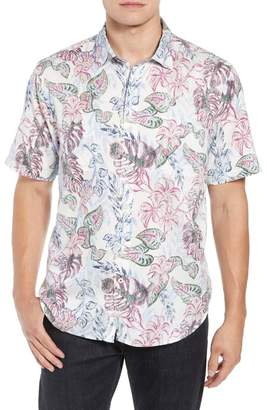 Tommy Bahama Diego Fronds Jacquard Short Shirt