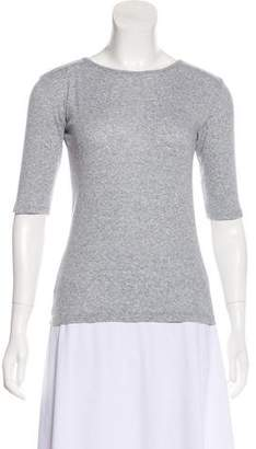Theory Knit Short Sleeve Top
