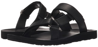 Teva - Universal Slide Leather Women's Sandals $80 thestylecure.com