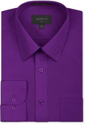 Ward St Men's Regular Fit Dress Shirts, XL, 17-17.5N 36/37S