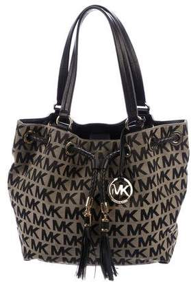 MICHAEL Michael Kors Leather-Trimmed Brookville Tote