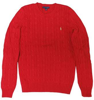 Ralph Lauren Women's Sport Sweater Fall Red