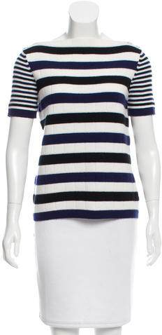 Chanel Chanel Striped Cashmere Sweater