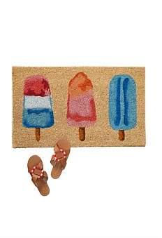 Anthropologie Popsicles Doormat