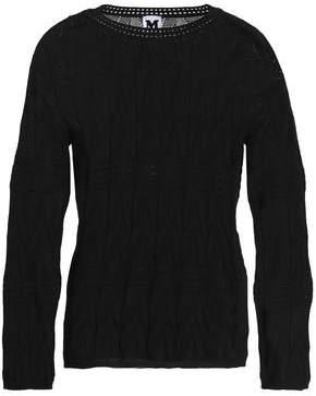 M Missoni Pointelle-Knit Wool-Blend Sweater