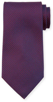 Stefano Ricci Neat-Print Silk Tie